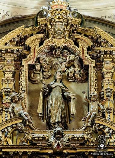 Santa Teresa de Jesús. Peter Reling, s. XVIII.