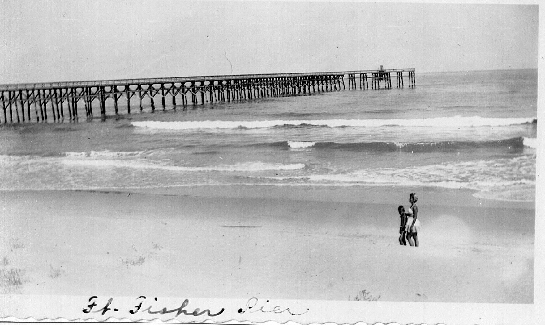 Oral History – Earl Page – Part 6 : 'Fort Fisher Pier' | Federal