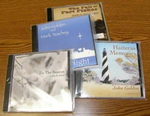 Music CDs by John Golden