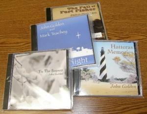 John Golden's CDs $14.00-$18.00