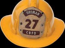 Carolina Beach FD Helmet