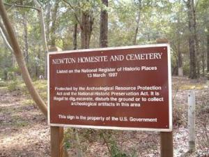 Newton Homesite and Cemetery