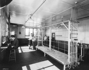 Ethyl Dow Lab (Monroe Shigley in center)