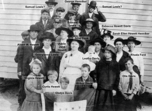 Federal Point Methodist Members with Names - 1920