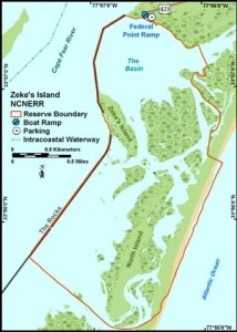 The Rocks - Battery Buchanan - Zeke's Island - Bald Head Island[click]</i<