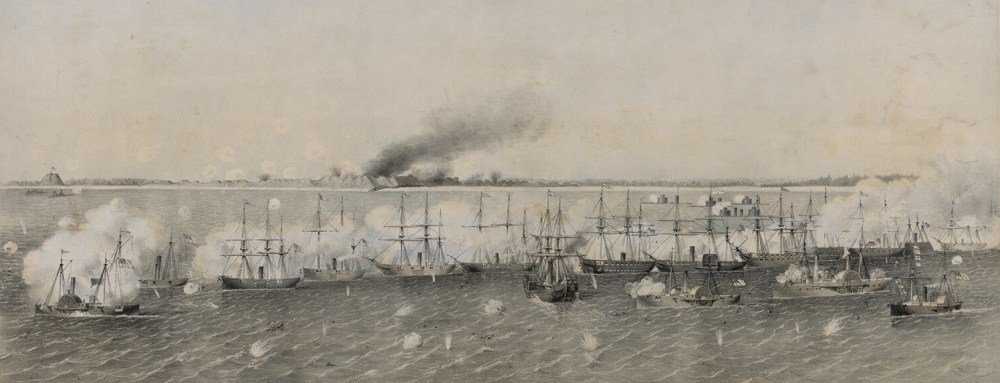Bombardment of Fort Fisher 2