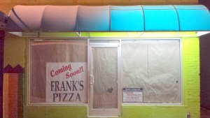 Franks opening soon
