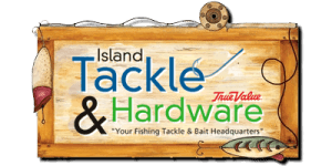 Island Tackel sign