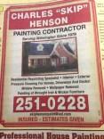 Skip Henson ad