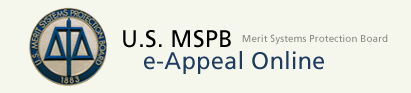 MSPB Appeal Logo