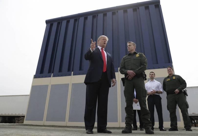 Congress Border Wall 57980 - Congress heads toward postelection fight over border wall
