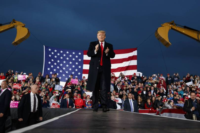Election 2018 Trump 65411 - Trump urges Ohio supporters to vote GOP in November midterms
