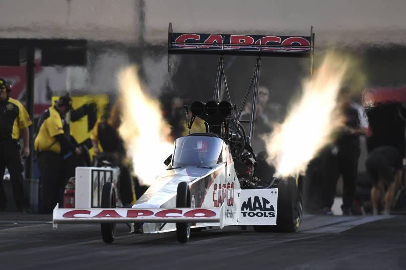 NHRA Auto Racing 36407 - Johnson tops Funny Car qualifying at NHRA Carolina Nationals