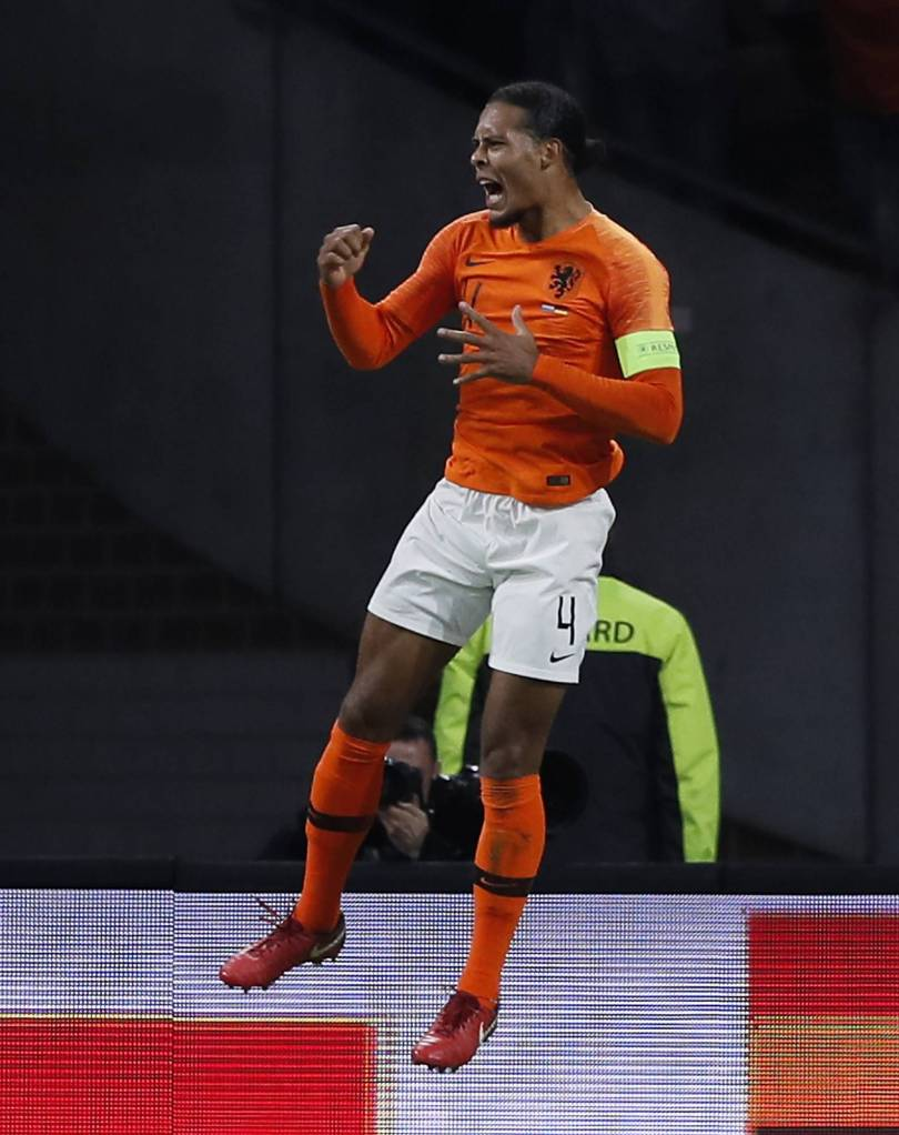 Netherlands Germany Nations League Soccer 59048 - Netherlands thrashes Germany 3-0 to pile pressure on Loew