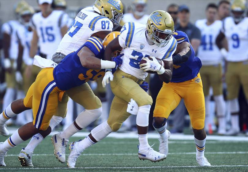UCLA California Football 24329 - Chip Kelly gets 1st win at UCLA, 37-7 over California