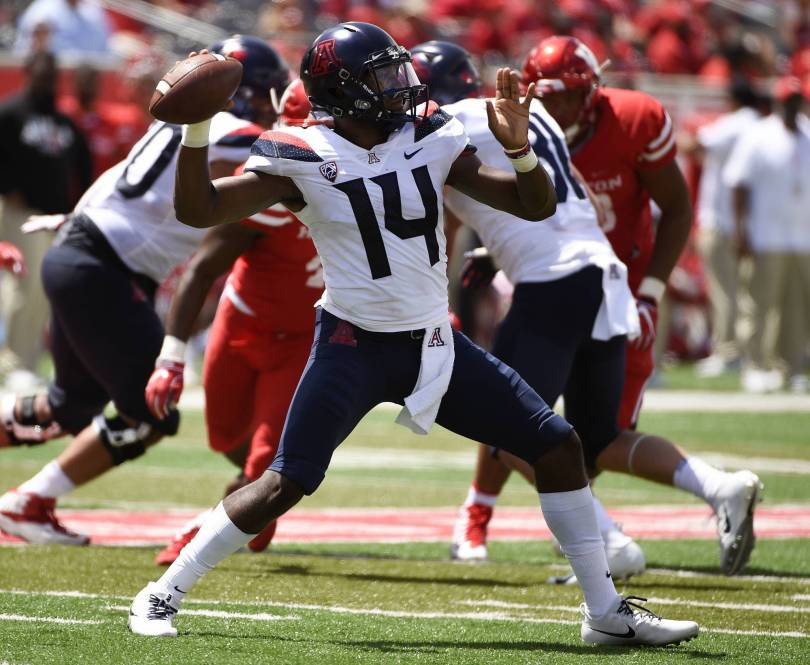Arizona Houston Football 30192 - After 0-2 start, Arizona looks to S. Utah for 1st win