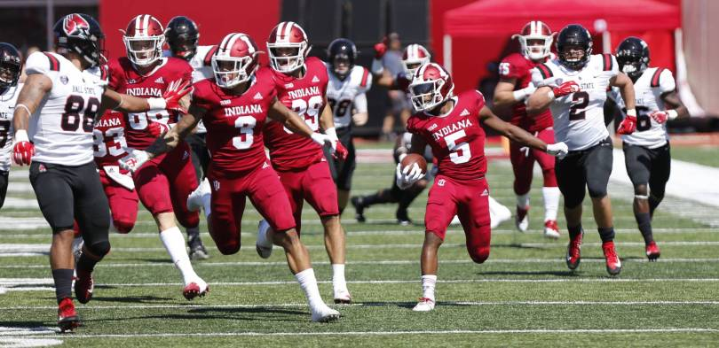Ball State Indiana Football 63641 - Hoosiers run past Ball St. for perfect non-conference start