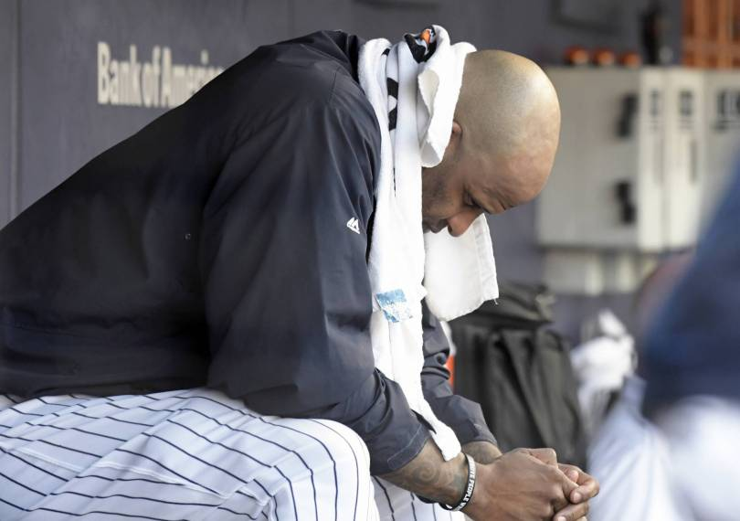 Blue Jays Yankees Baseball 05649 - Yankees rally late, but Blue Jays hang on for 8-7 win