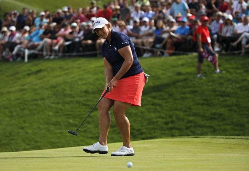 France Golf Evian Championship 84988 - Angela Stanford wins at Evian for 1st career major title