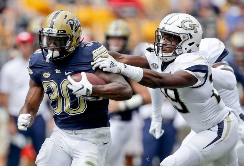 Georgia Tech Pittsburgh Football 48135 - Pitt defense shuts down Georgia Tech in 24-19 win
