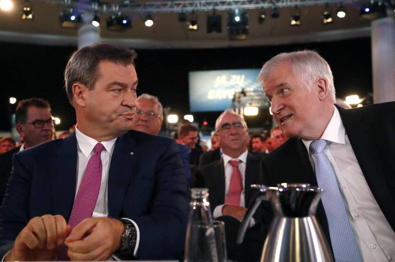 Germany CSU Party Convention 47842 - Bavarian leaders seek to rally conservatives ahead of vote
