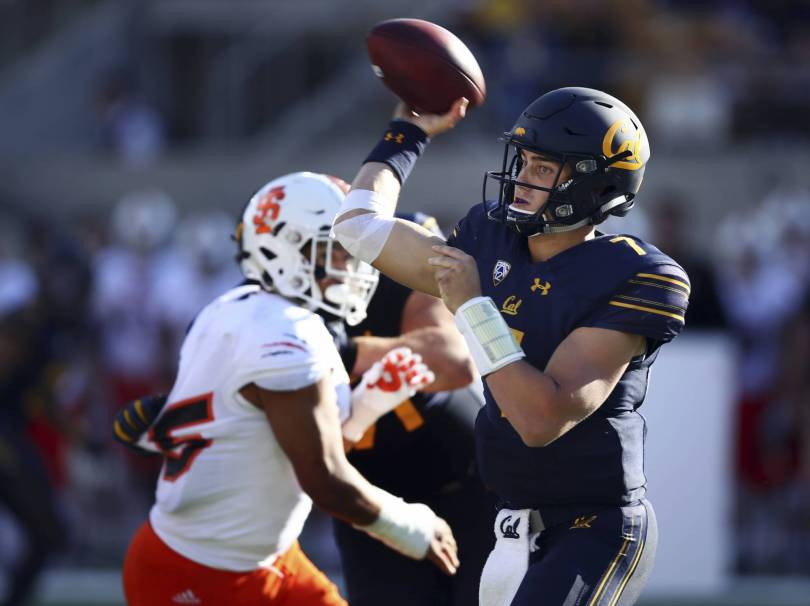 Idaho St California Football 75505 - Garbers passes for 3 TDs in Cal's 45-23 win over Idaho State