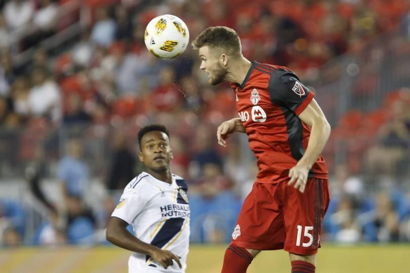 MLS LA Galaxy Toronto FC Soccer 08982 - Ibrahimovic scores 500th in Galaxy's 5-3 loss to Toronto FC