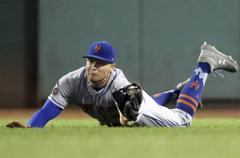 Mets Red Sox Baseball 15649 - Syndergaard helps Mets cool off Red Sox 8-0