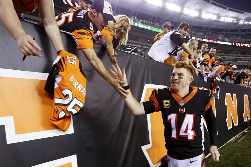 Ravens Bengals Football 42824 - Look who leads the AFC North: those 2-0 Bengals