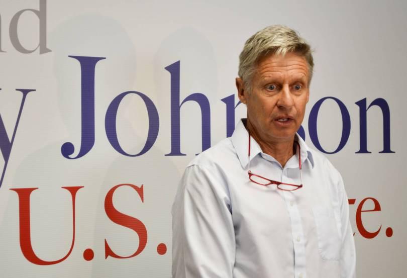 Senate New Mexico Gary Johnson 14236 - Libertarian Senate candidate discloses cannabis investments