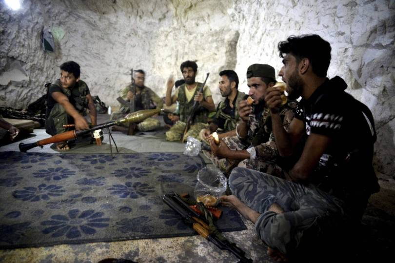 Syria Idlib Fighters 74853 - Last stand: Syria's rebel Idlib prepares for a losing battle