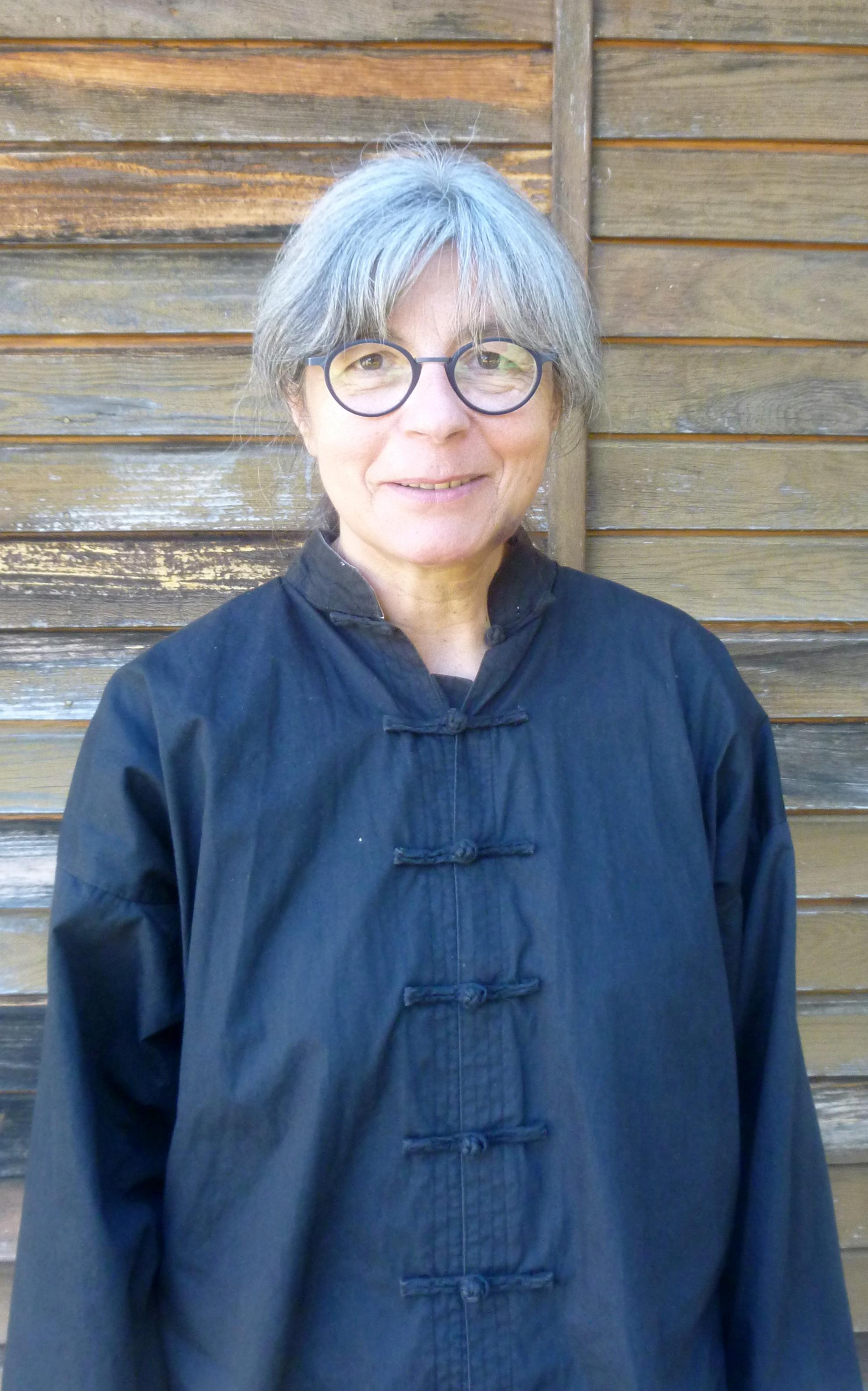 Evelyne Boudieux, professeur de l'école de Vélines