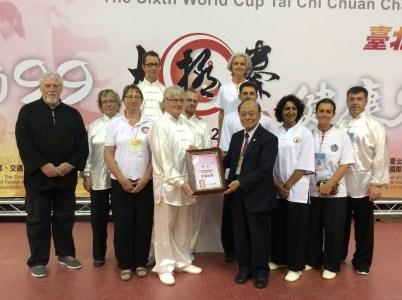 Read more about the article Le sixième championnat du monde de tai chi chuan