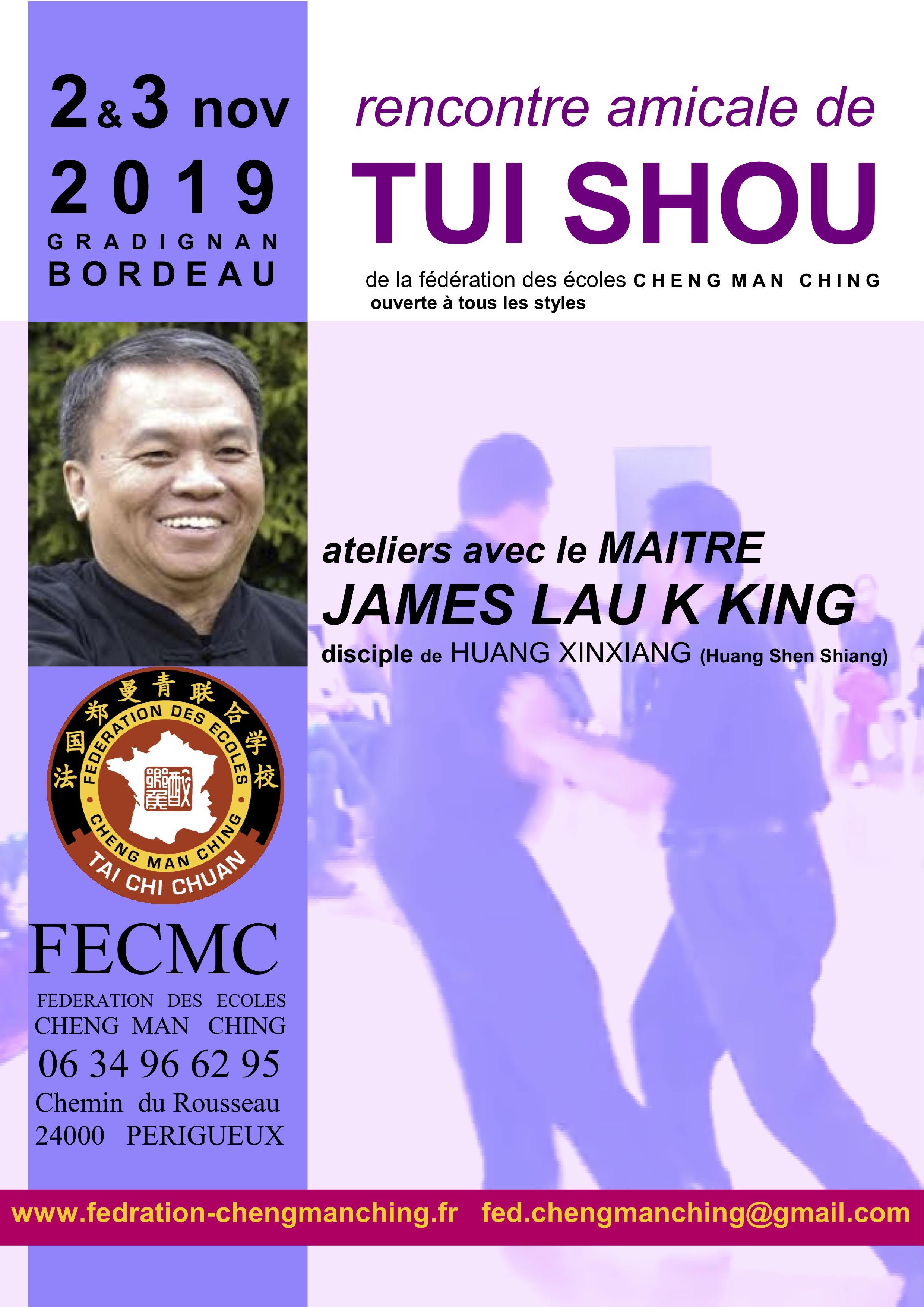 Affiche rencontre FECMC 2019