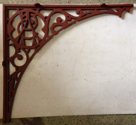 Adelaide Racing Club cast iron lacework corners. Initials A.R.C. in the design of these pieces of Adelaide history x 12 corners $75 each