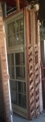 Colonial style sash windows x 2, ex-Memorial Hospital 1085 x 2525mm $400 each