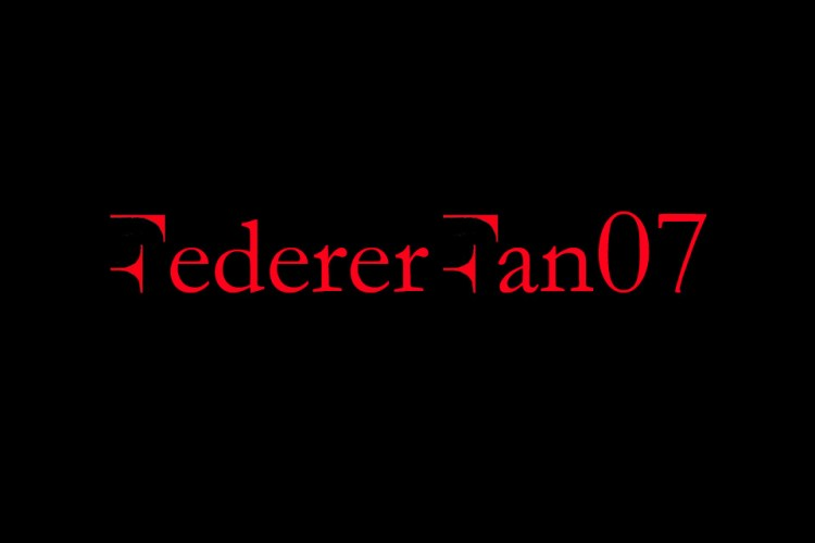 FedererFan07 Red Black