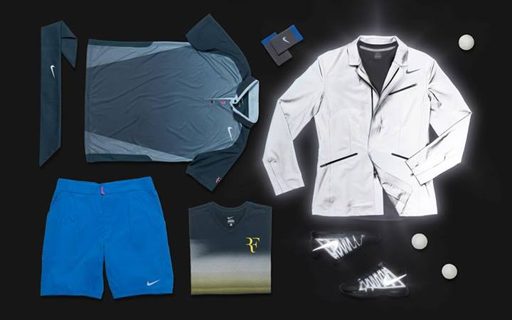 Roger Federer US Open 2013 Nike outfit night session