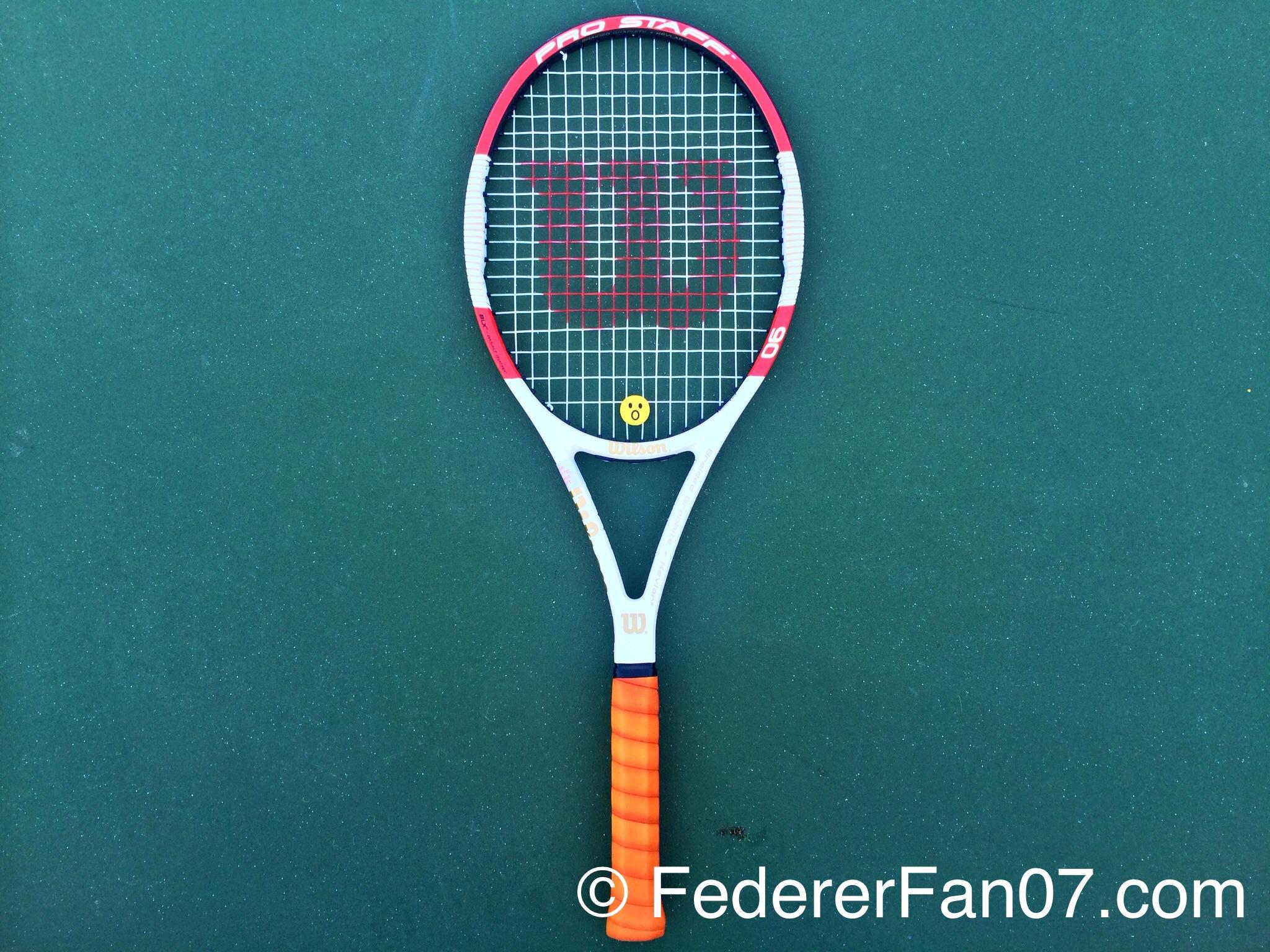 Roger Federer 39 S New 2014 Wilson Pro Staff 90