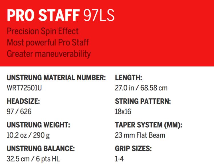 Pro Staff 97LS