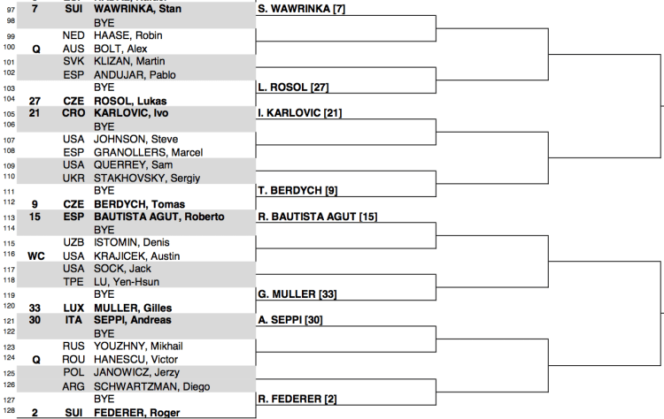 2015 BNP Paribas Open draw 4:4