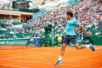 Roger Federer Monte Carlo Rolex Masters
