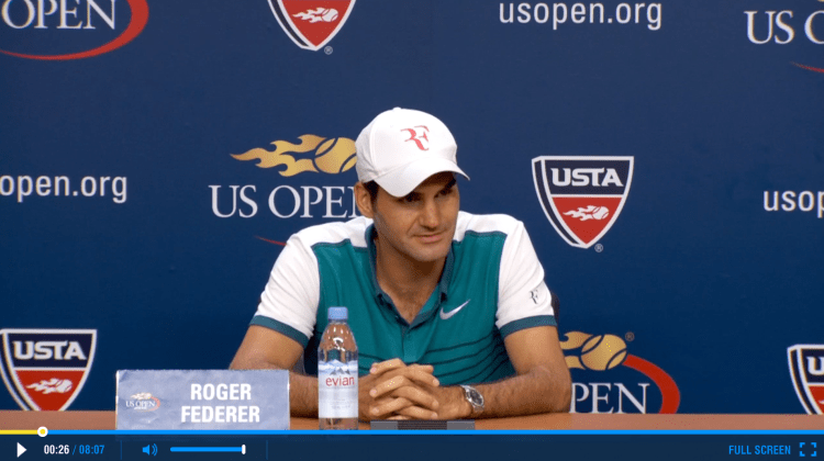 Federer 2015 US Open Final Press Conference