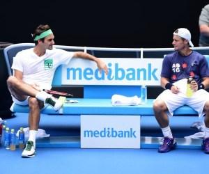 Roger Federer, Lleyton Hewitt, 2016 Australian Open