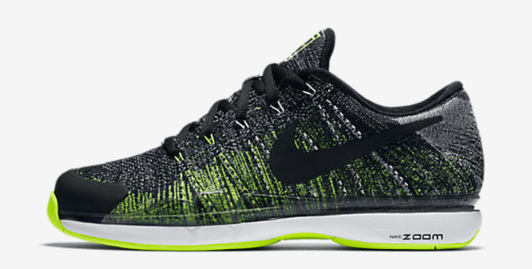 Roger Federer 2017 Indian Wells NikeCourt Zoom Vapor 9.5 Flyknit