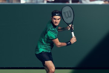 Roger Federer 2017 Indian Wells Nike Outfit
