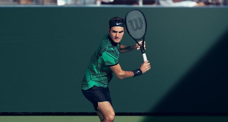 Roger Federer 2017 Indian Wells Nike Outfit