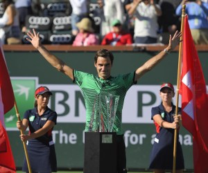 Roger Federer 2017 BNP Paribas Open Indian Wells BNPPO17