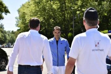 Roger Federer 2017 Mercedes Cup