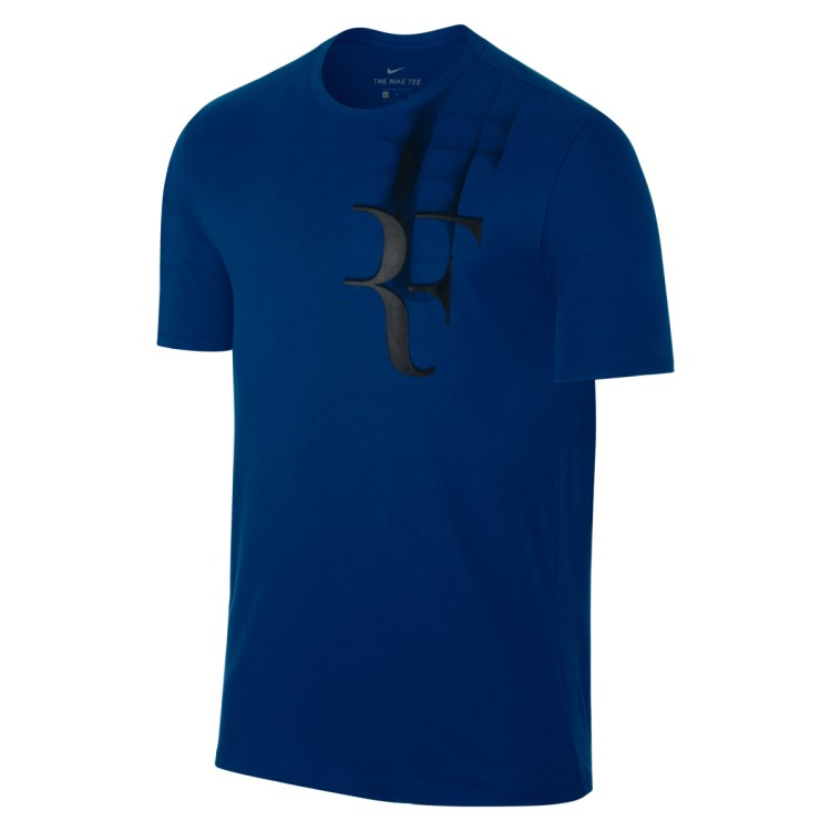 Roger Federer 2017 Coupe Rogers RF Shirt Navy